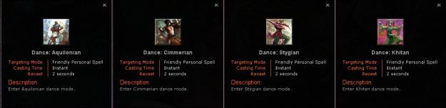 Racial Dances