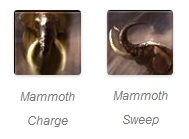 Mammoth Mount Abilities