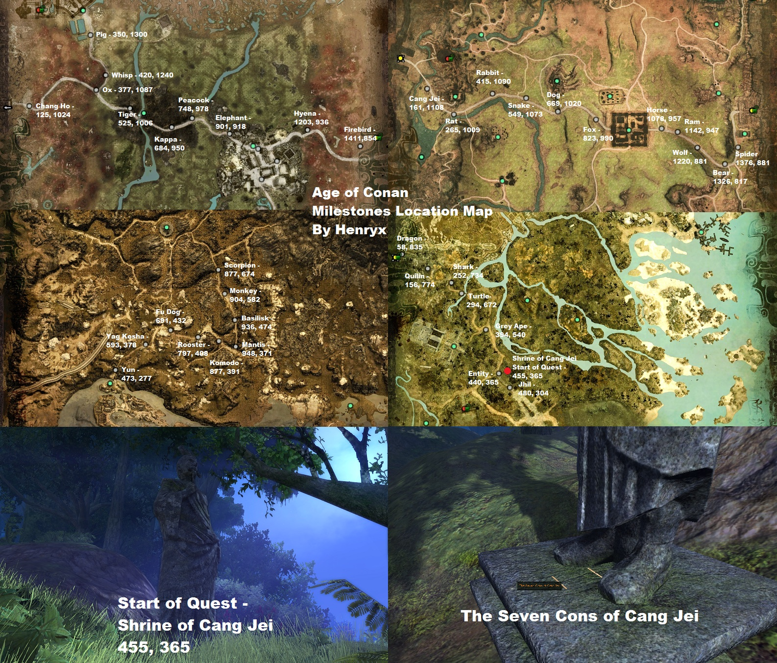 any good quest guides for khitai? - Age of Conan: Hyborian ...