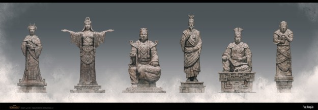 ageofconan_prop_sctructure_oriental_style_statues_by_fang_wang_lin