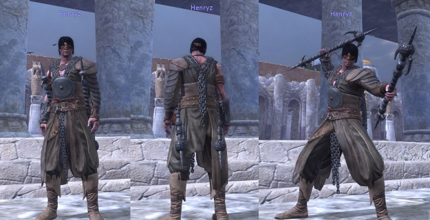 Akhun's Black-chained Armor Set4