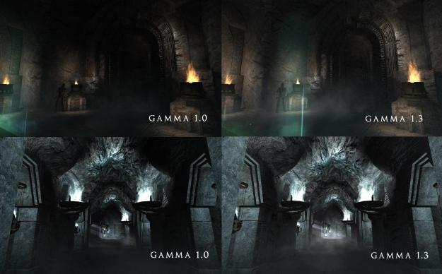 Gamma Comparison