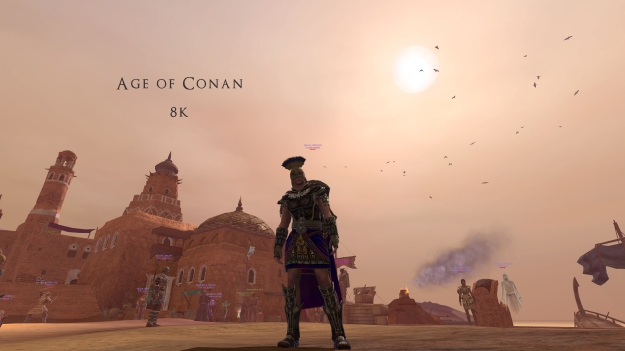 Age of Conan in 8K